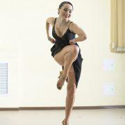 ballroom dancing.Latin -American Program, solo