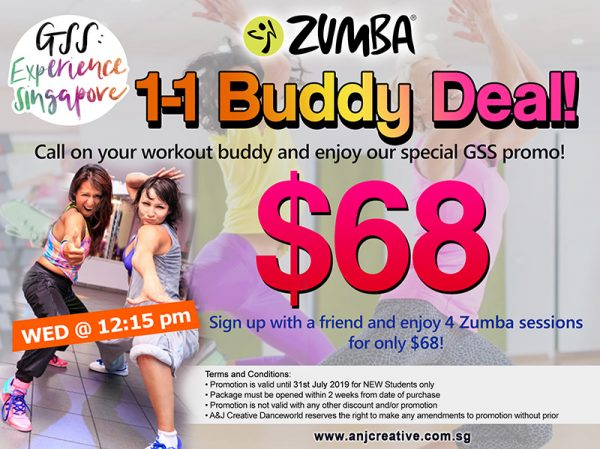 Zumba 1 for 1 LR